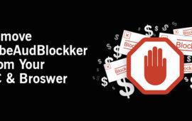 Getting Rid of TubeAudBlockker Adware