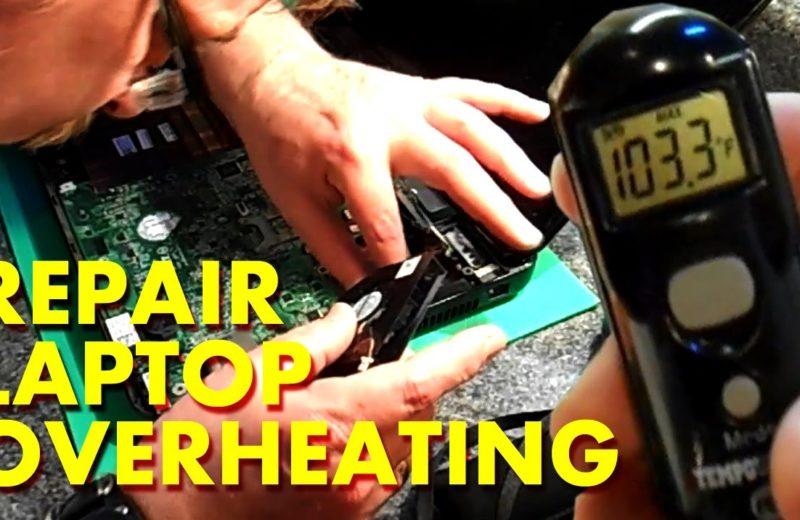 Repair Laptop Overheating issue