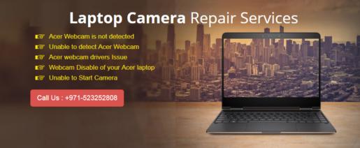laptop camera repair services dubai