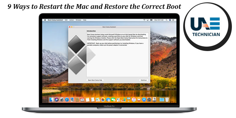 9 ways to restart the mac and restore the correct boot 21.5 Inch iMac iMac User's Guide
