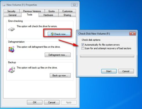 How to Fix Hard Disk Read Error of your Laptop