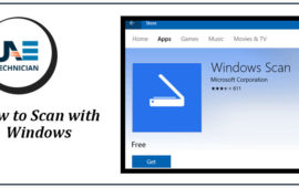 How to Scan with Windows 10, Dial 042053349 in Dubai, UAE
