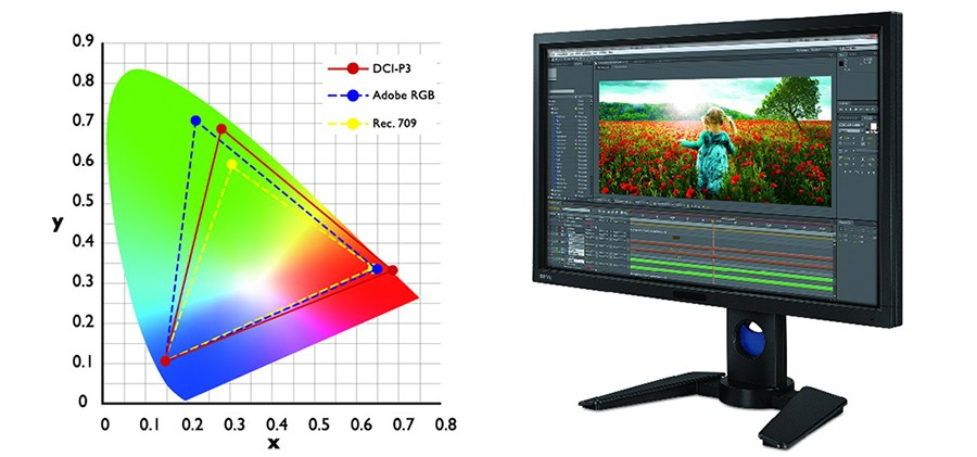 How to Adjust the Monitor for Correct Color Rendering
