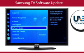 How to update Samsung TV software