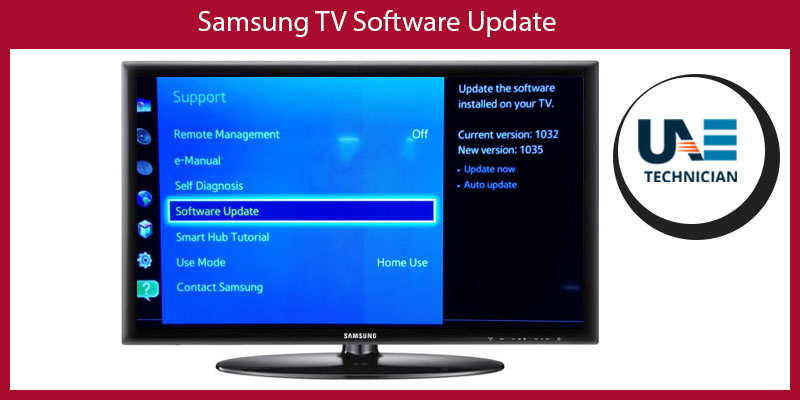 Updating software on samsung smart tv  Update the software