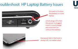 How to fix HP Laptop Battery issues? In Dubai UAE