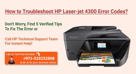 fix HP LaserJet 4300 Printer Error - UAE Technician