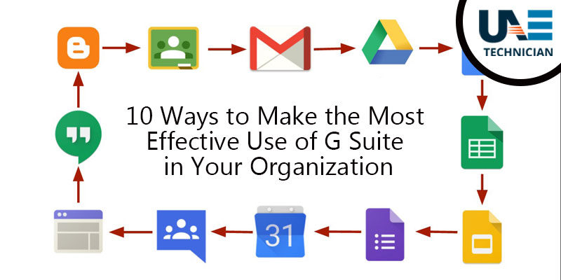 most effective use of Google G Suite
