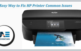 How to fix HP Printer Common Issues?
