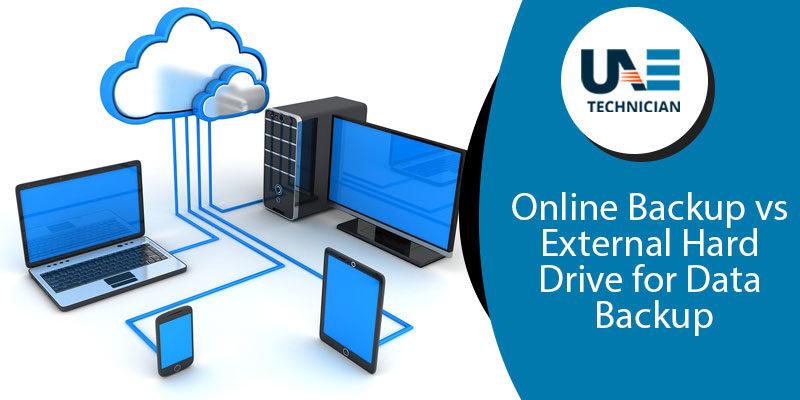 Online Backup vs. External Hard Drive