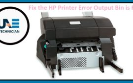 How to Fix the HP Printer Error Output Bin is Full?