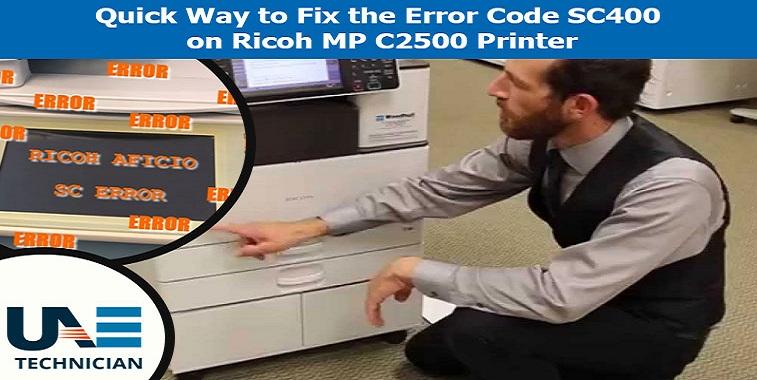 Fix-the-Error-Code-SC400-on-Ricoh-MP-C2500-Printer