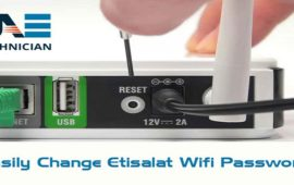 How to Change WiFi Password of Etisalat Router?