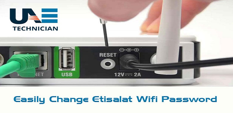 change Etisalat Wifi password