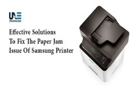 Resolve Samsung Printer Paper Stuck Inside and It's Not Printing Issue Easily
