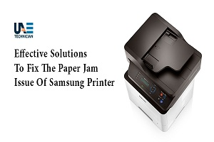 resolve samsung printer paper jam issue