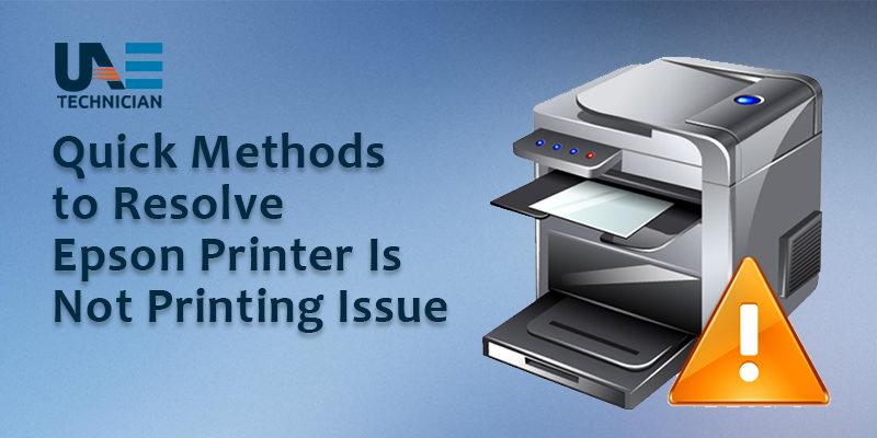 How to Fix Epson Printer