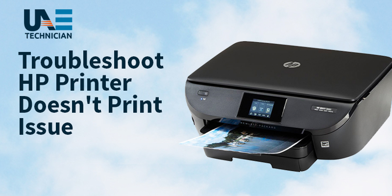 Fix HP Printer Not Printing Color Prints Issue - UAE Technician