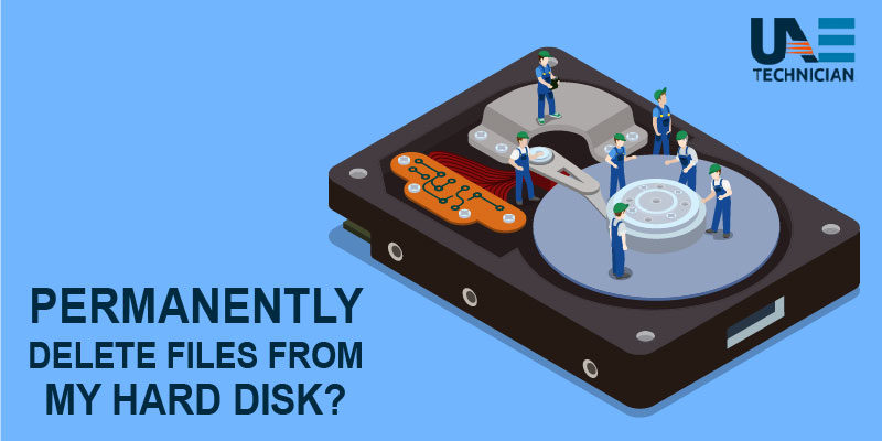 How to Permanently Delete Files from Hard Drive