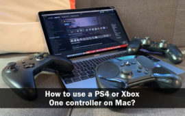 How to use a PS4 or Xbox One controller on Mac?