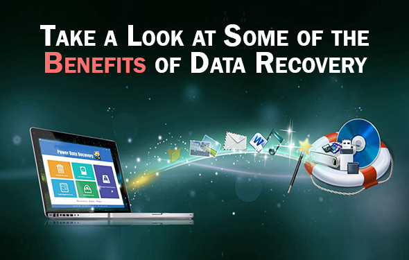 Take a Look at Some of the BENEFITS of data recovery
