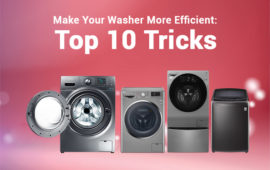 How to Make Your Washer More Efficient: Top 10 Tricks