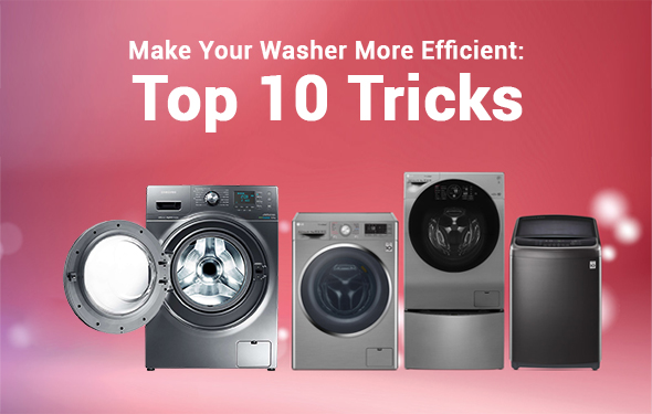 How to Make Your Washer More Efficient