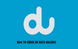 DU Mobile Network: How to Check Data Balance?