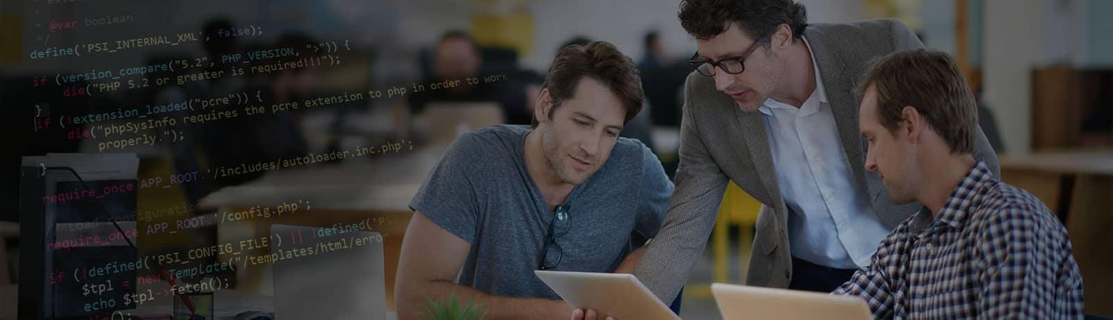 banner image - CRM Software Development