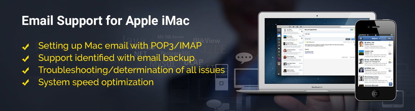 banner image - Email Support for Apple Mac