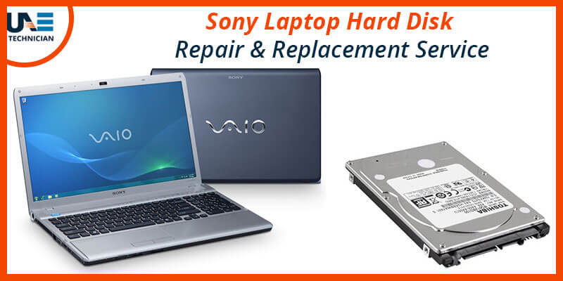 Sony Vaio Laptop Hard Disk Replacement