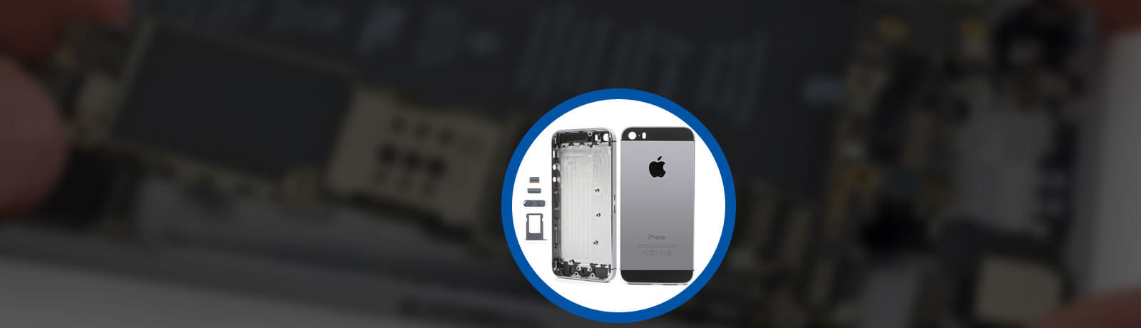 iPhone 5s Back Cover Replacement in UAE