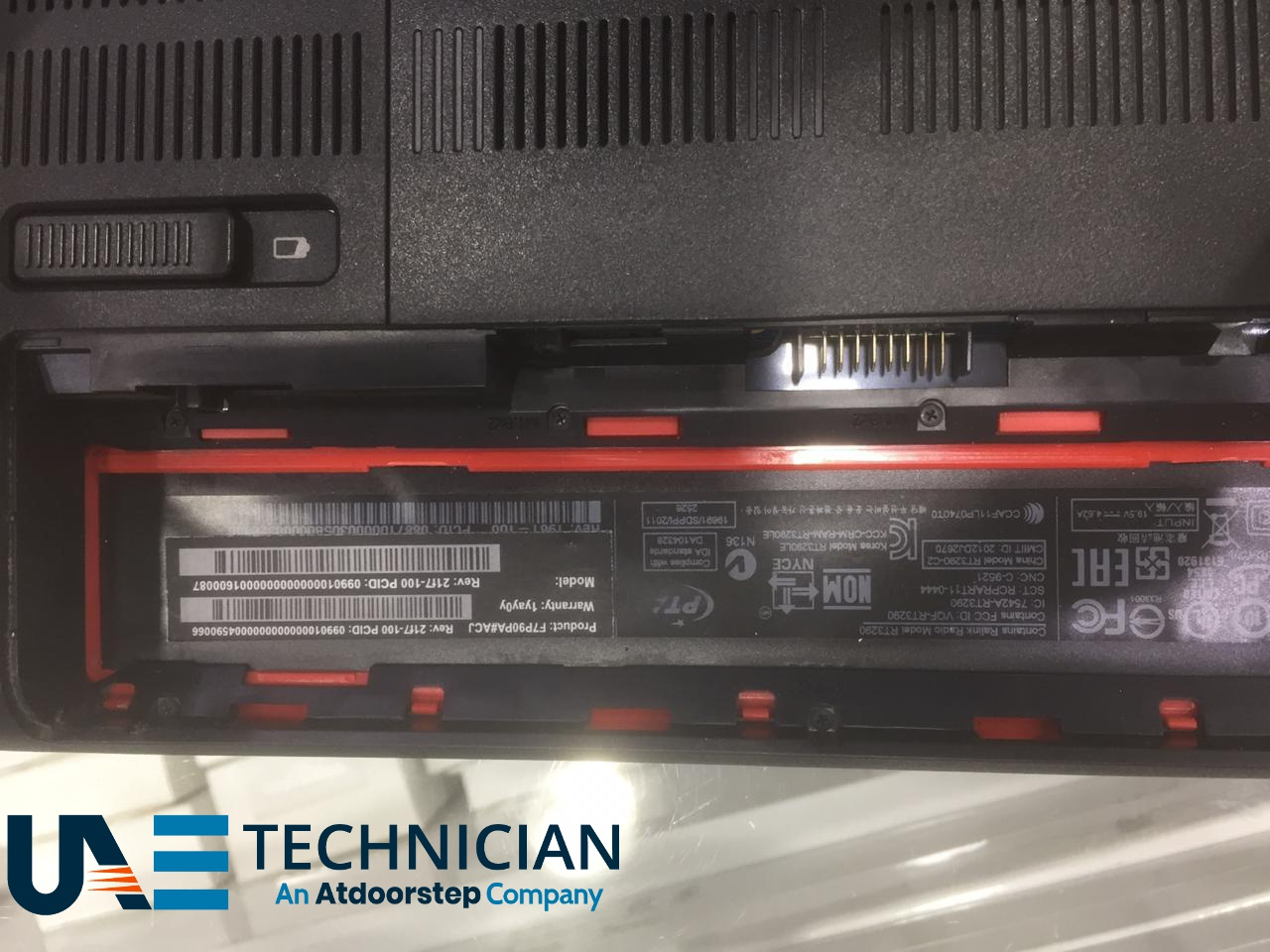 Laptop Battery Replacement Dubai UAE