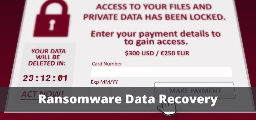 Ransomware Data Recovery in Dubai