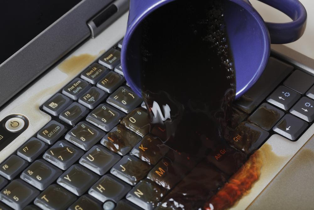 Asus Laptop water Damage