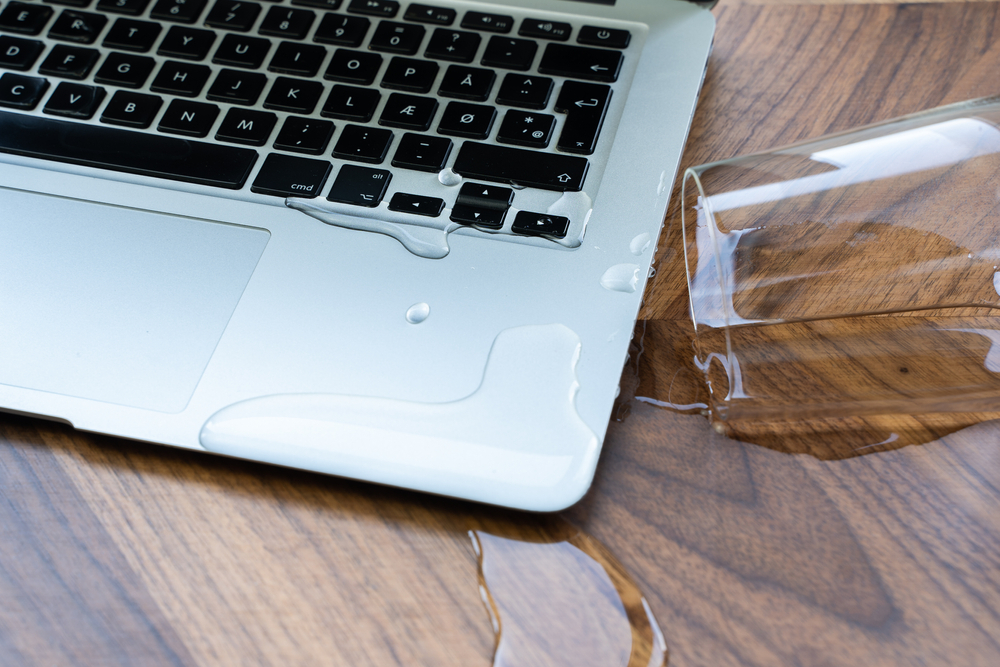Compaq Laptop Water Damage