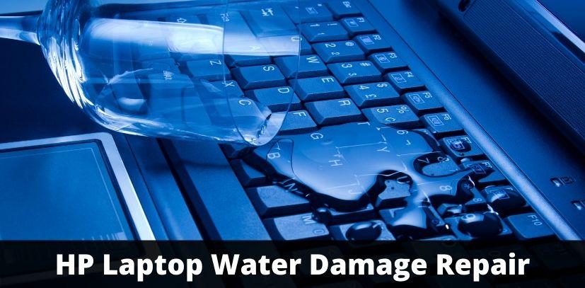 HP Laptop Water Damage Repair
