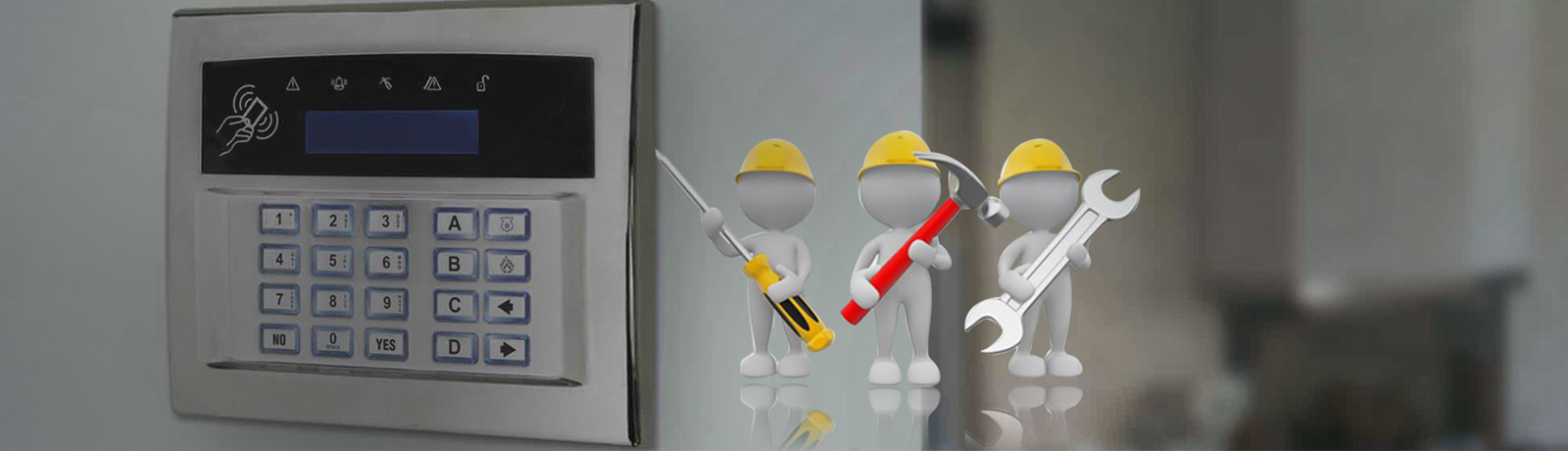 Intruder Alarm Maintenance Service in UAE