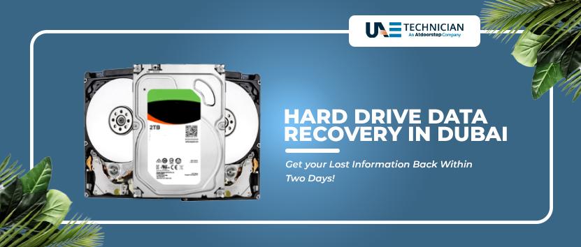 Hard Drive Data Recovery Dubai UAE